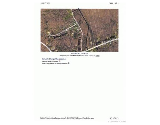 Land for Sale at Laiho Road Sterling, Connecticut 06377 United States