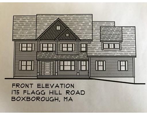 Maison unifamiliale pour l Vente à 175 Flagg Hill Road Boxborough, Massachusetts 01719 États-Unis