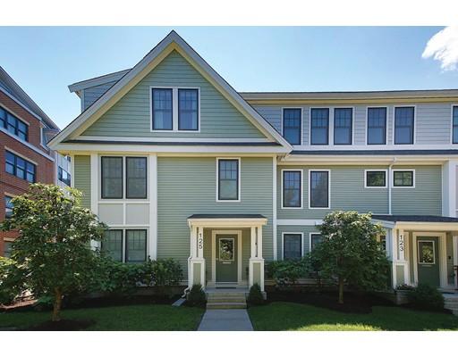 Condominium for Sale at 125 Crowninshield Road Brookline, Massachusetts 02446 United States