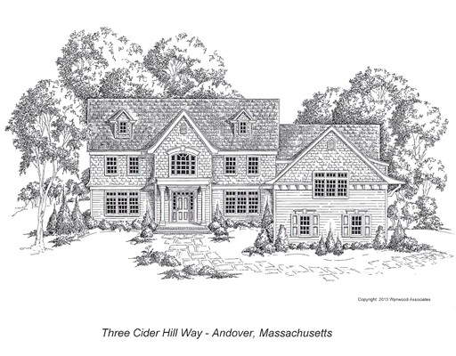 Vivienda unifamiliar por un Venta en 1 Cider Hill Way 1 Cider Hill Way Andover, Massachusetts 01810 Estados Unidos