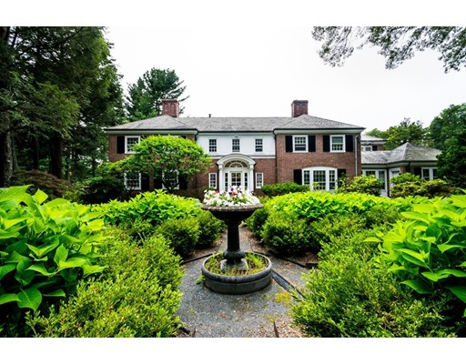 Single Family Home for Sale at 244 Dudley Road 244 Dudley Road Newton, Massachusetts 02459 United States