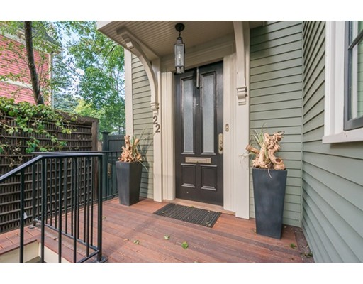 Single Family Home for Sale at 22 Lowell Street Cambridge, Massachusetts 02138 United States