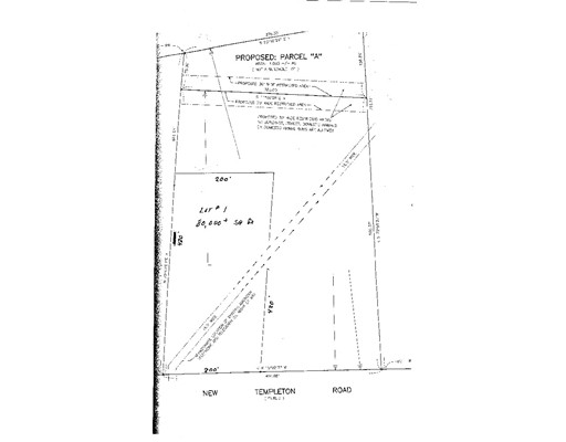 Land for Sale at 93 (lot 76)New Templeton Road Hubbardston, 01452 United States