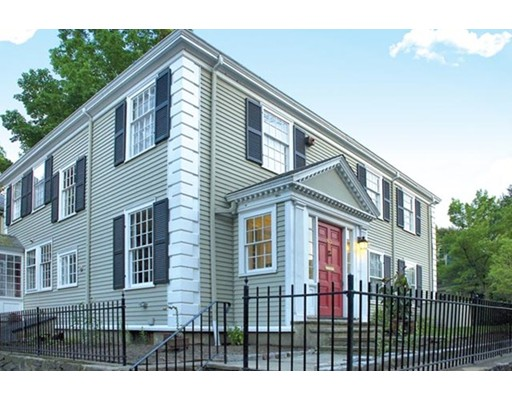 Single Family Home for Sale at 60 High Street Brookline, Massachusetts 02445 United States