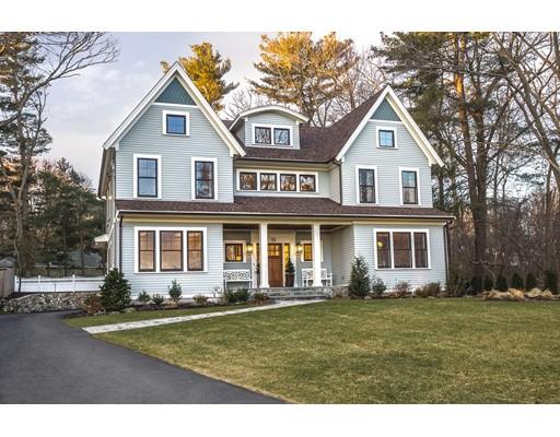 Casa Unifamiliar por un Venta en 53 Hutchinson Road Winchester, Massachusetts 01890 Estados Unidos