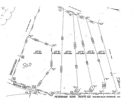 Lot 1 Petersham Road Route 122, New Salem, MA 01355
