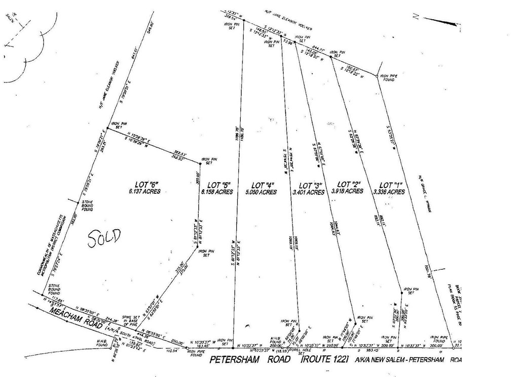 Property for sale at Lot 1 Petersham Road Route 122, New Salem,  MA 01355