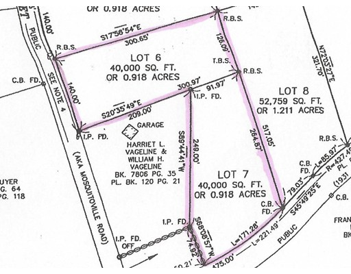 Lot 6 & 7 Pine & Franklin St, Belchertown, MA 01007