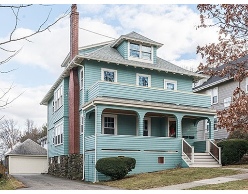 Single Family Home for Rent at 20 Alden Road Watertown, Massachusetts 02472 United States