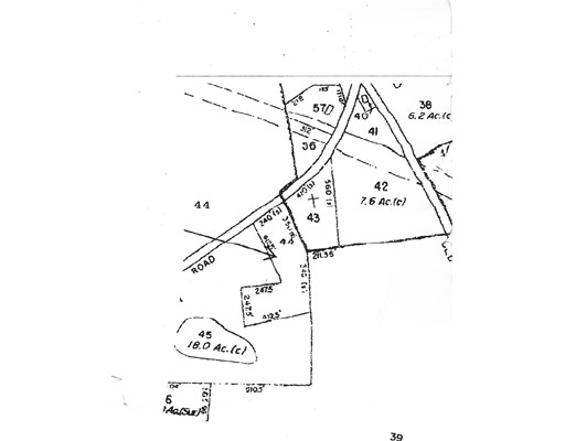 Land for Sale at 44 Athol Road Royalston, 01368 United States