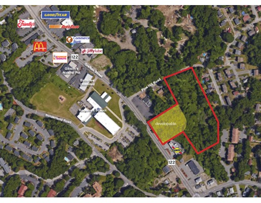 Land for Sale at 1059 Grafton Street Worcester, 01604 United States