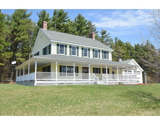 Single Family Home for Sale at 465 Jewett Hill Road Ashby, Massachusetts 01431 United States