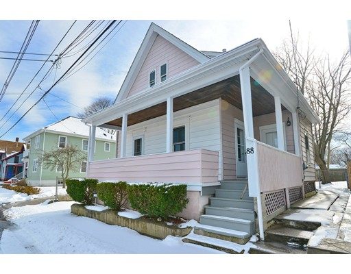 Single Family Home for Sale at 88 Lincoln Avenue East Providence, Rhode Island 02915 United States