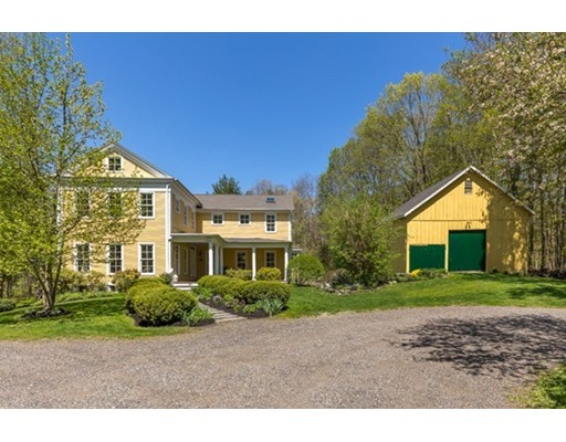 Single Family Home for Sale at 80 Maple Street Sherborn, Massachusetts 01770 United States