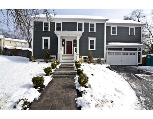 Single Family Home for Sale at 19 Greeley Circle Arlington, Massachusetts 02474 United States