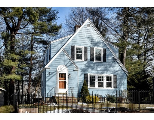 Single Family Home for Sale at 50 Lawton Road Needham, Massachusetts 02492 United States