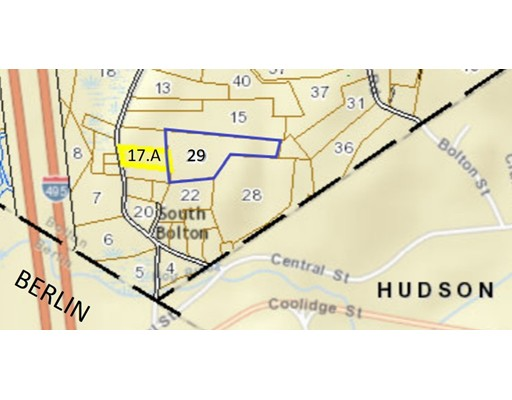 Terreno por un Venta en 3 S Bolton Road Bolton, Massachusetts 01740 Estados Unidos