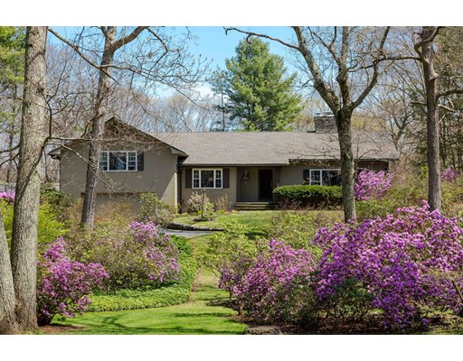 Single Family Home for Sale at 26 High Rock Road Wayland, Massachusetts 01778 United States