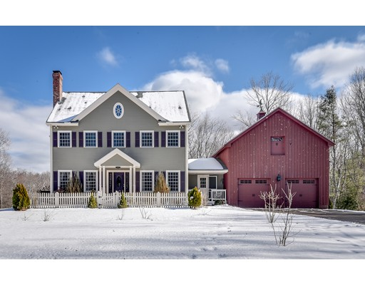 Casa Unifamiliar por un Venta en 123 Tucker Road West Brookfield, Massachusetts 01585 Estados Unidos