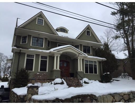 Single Family Home for Sale at 393 Fuller street Newton, Massachusetts 02465 United States