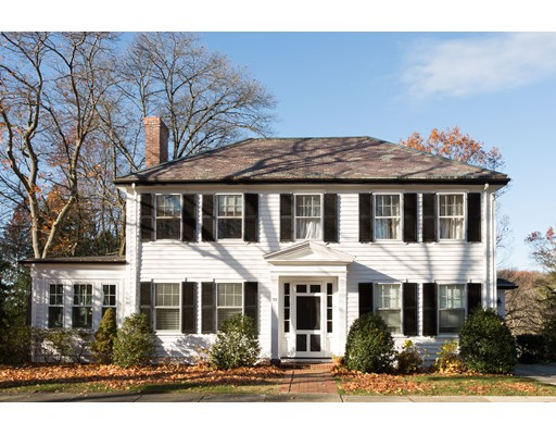 Single Family Home for Sale at 39 Grove Hill Park Newton, Massachusetts 02460 United States