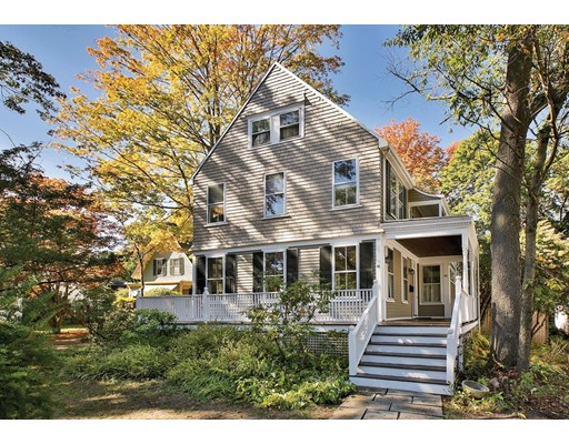 Single Family Home for Sale at 41 Hancock Street Newton, Massachusetts 02466 United States