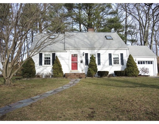 Single Family Home for Sale at 94 Valley Road Needham, Massachusetts 02492 United States