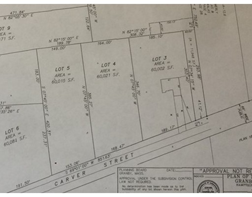 lot 3 Carver St, Granby, MA 01033