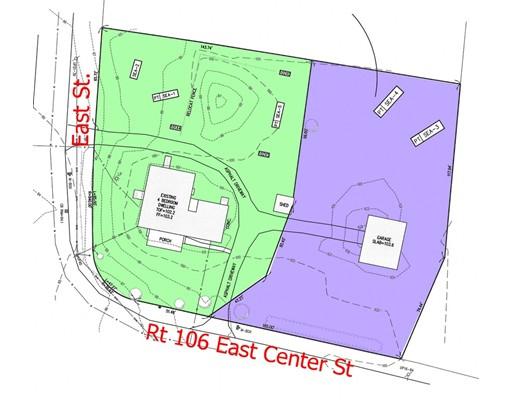 Terrain pour l Vente à 369 E Center Street West Bridgewater, Massachusetts 02379 États-Unis