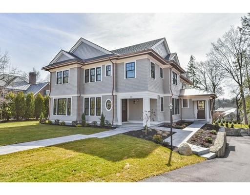 Single Family Home for Sale at 192 fuller Newton, Massachusetts 02459 United States