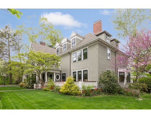 Single Family Home for Sale at 5 Maple Street Brookline, Massachusetts 02445 United States