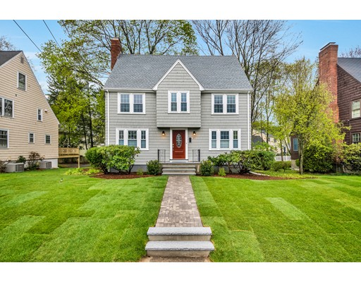 Single Family Home for Sale at 25 Allen Avenue Newton, Massachusetts 02468 United States