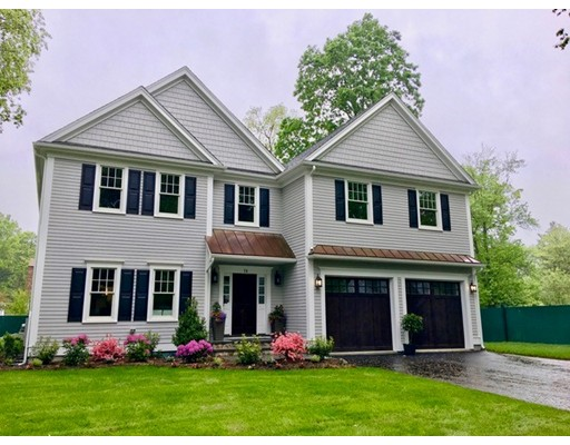 Single Family Home for Sale at 79 Manor Avenue 79 Manor Avenue Wellesley, Massachusetts 02481 United States