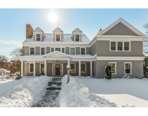 Single Family Home for Sale at 33 Sherburne Road Lexington, Massachusetts 02421 United States