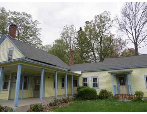 Частный односемейный дом для того Продажа на 295 Main Street Ashfield, Массачусетс 01330 Соединенные Штаты