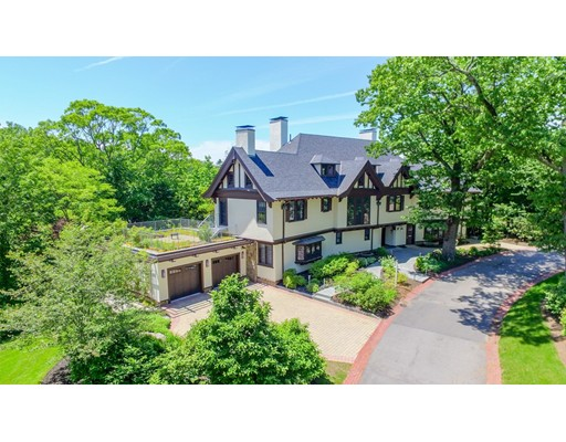 Single Family Home for Sale at 34 Welch Road 34 Welch Road Brookline, Massachusetts 02445 United States