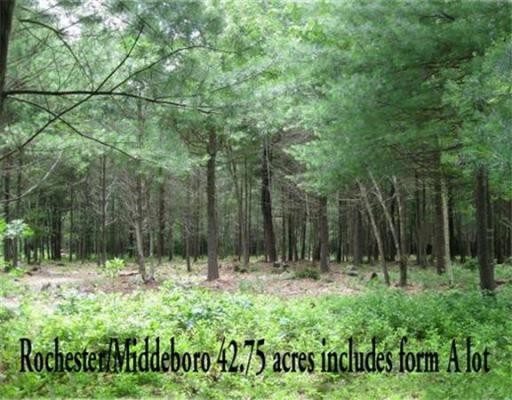 Land for Sale at WALNUT PLAIN ROAD Rochester, Massachusetts 02770 United States