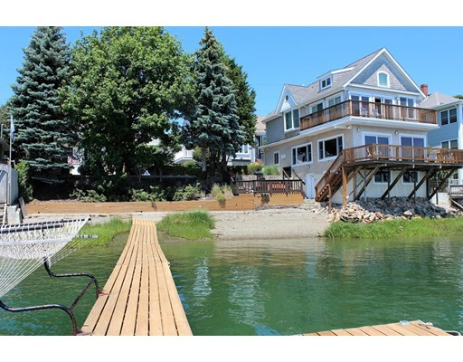 Single Family Home for Sale at 49 Edgewater Road Hull, Massachusetts 02045 United States