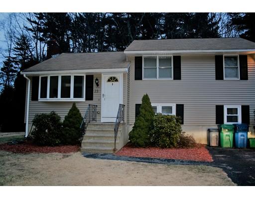 Single Family Home for Rent at 23 Sandybrook Burlington, Massachusetts 01803 United States