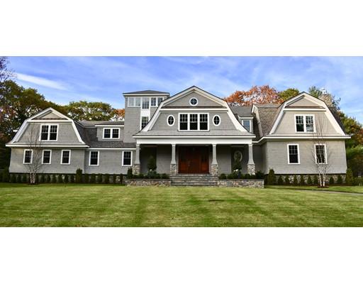 Casa Unifamiliar por un Venta en 20 Laxfield Road Weston, Massachusetts 02493 Estados Unidos