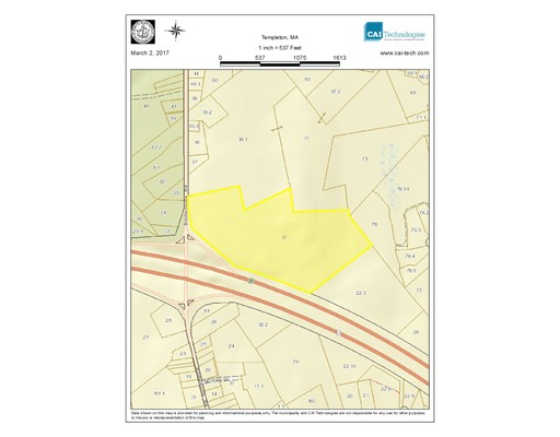 Land for Sale at 223 Baldwinville Templeton, 01468 United States