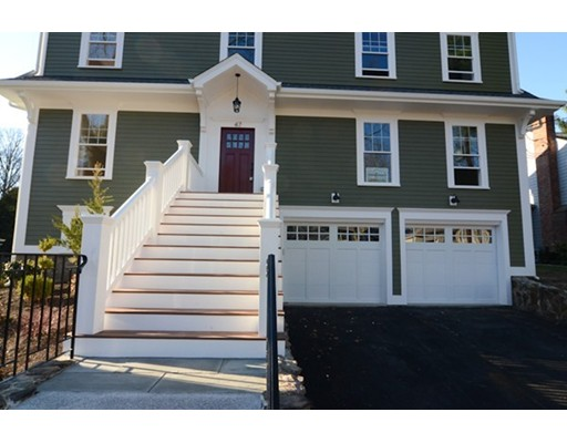 Casa Unifamiliar por un Venta en 47 Greeley Circle Arlington, Massachusetts 02474 Estados Unidos