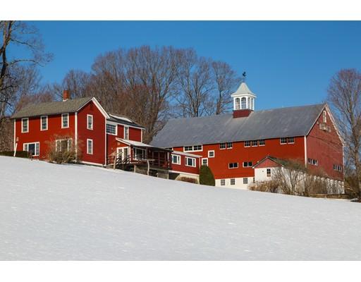 Частный односемейный дом для того Продажа на 837 Murray Road Ashfield, Массачусетс 01330 Соединенные Штаты