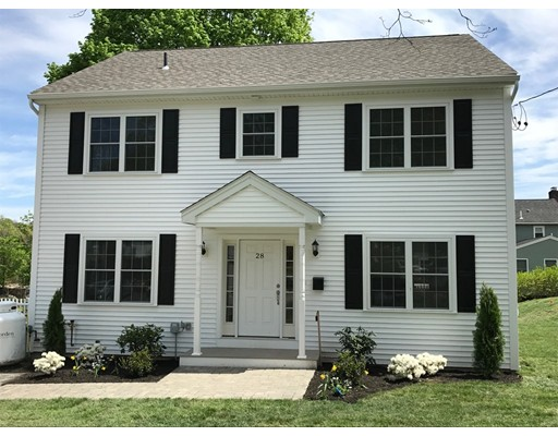 Single Family Home for Sale at 28 NUTTING ROAD Waltham, Massachusetts 02451 United States