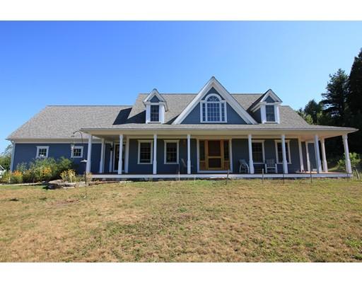 Частный односемейный дом для того Продажа на 235 Northwest Road Westhampton, Массачусетс 01027 Соединенные Штаты