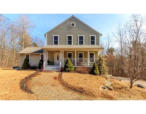 Частный односемейный дом для того Продажа на 499 Ware Corner Road Oakham, Массачусетс 01068 Соединенные Штаты