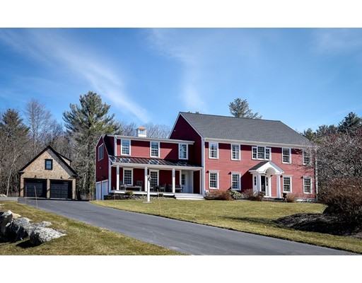 Single Family Home for Sale at 231 Concord Rd. - Private Drive Wayland, Massachusetts 01778 United States