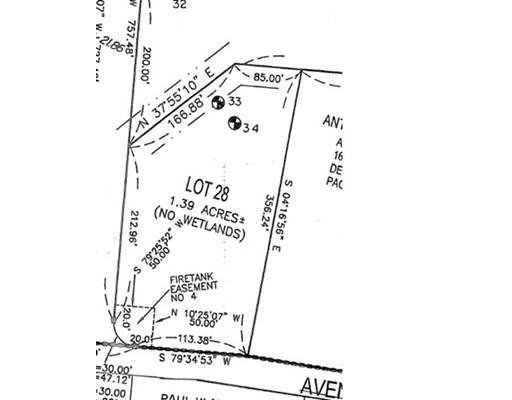 土地 为 销售 在 28 Steber Way Rehoboth, 02769 美国