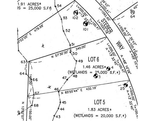 土地 为 销售 在 6 Steber Way Rehoboth, 02769 美国