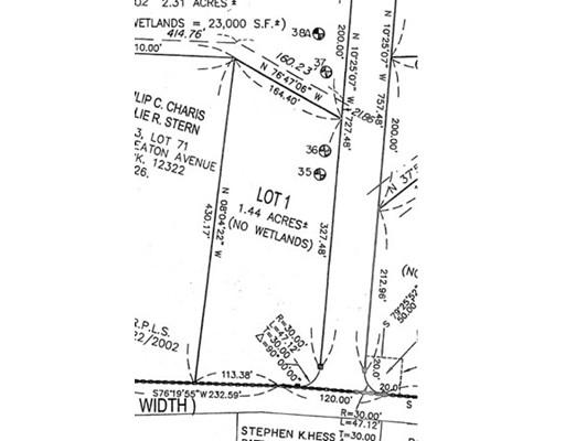 土地 为 销售 在 1 Steber Way Rehoboth, 02769 美国